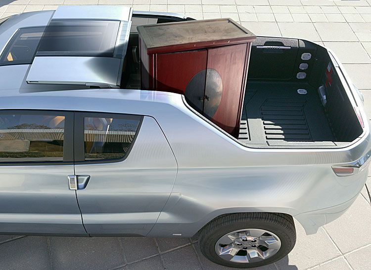 Toyota A-BAT Concept Truck's Roofline