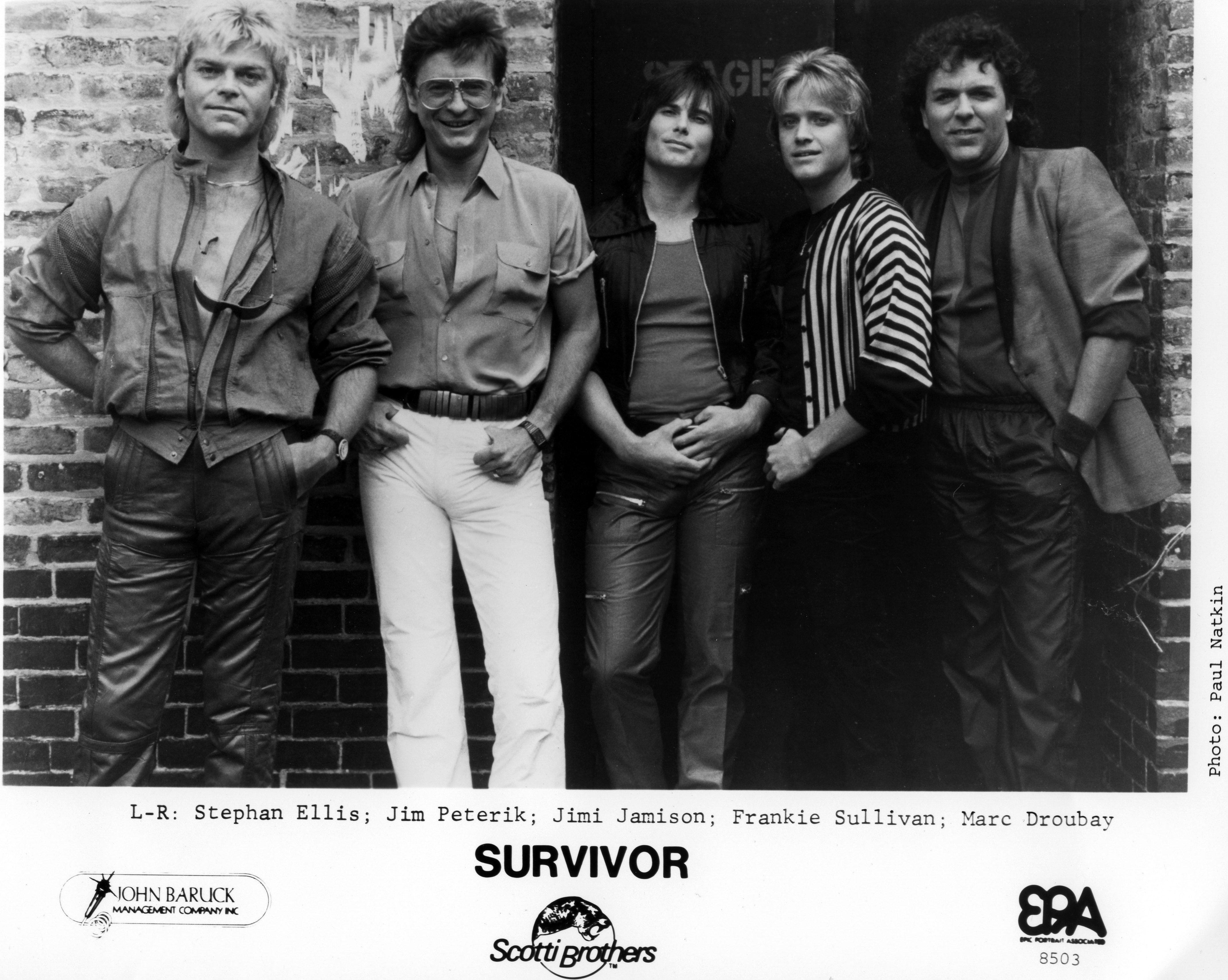 Rock group 'Survivor' Portrait