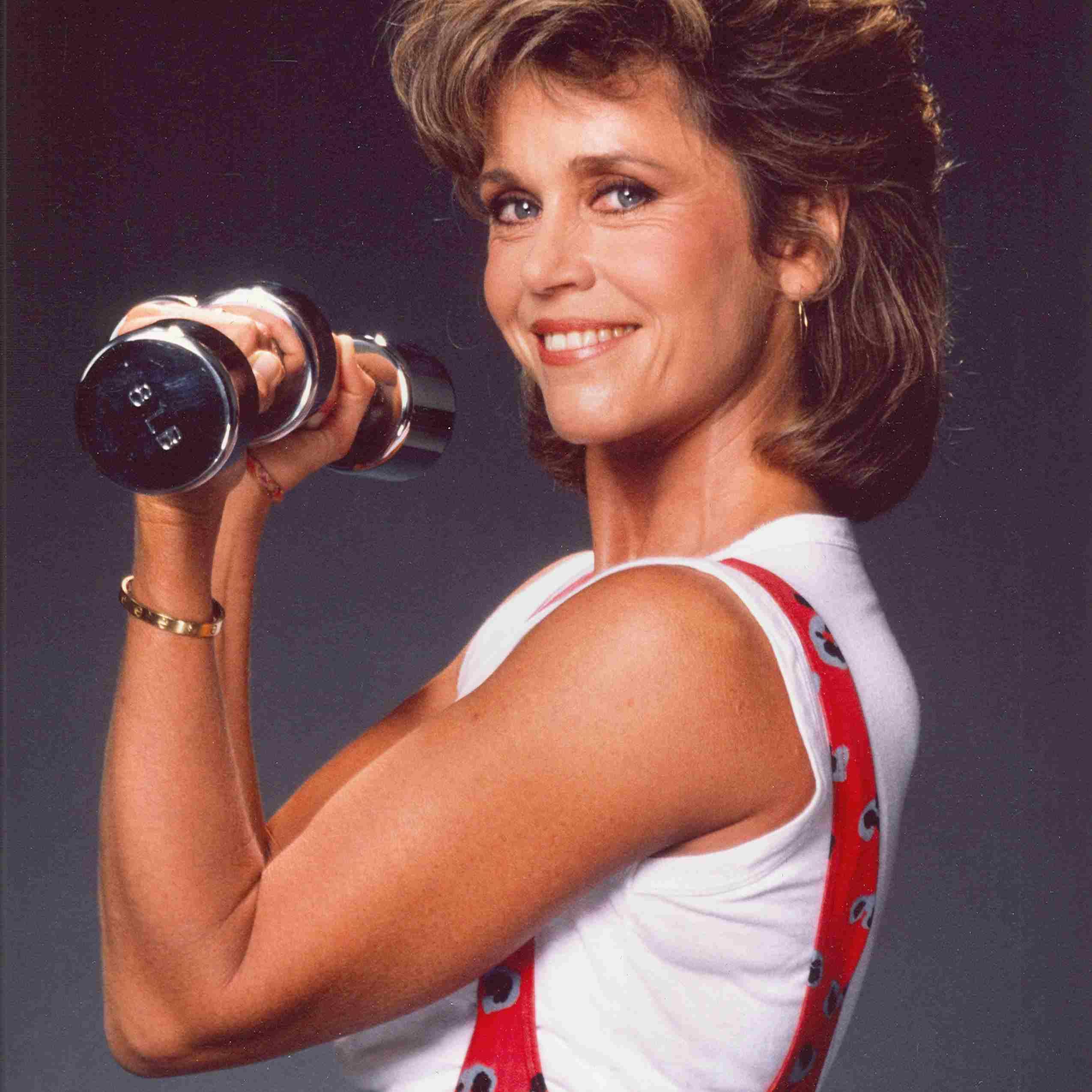 Jane Fonda circa 1990
