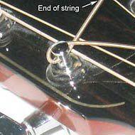 acoustic guitar tuning peg