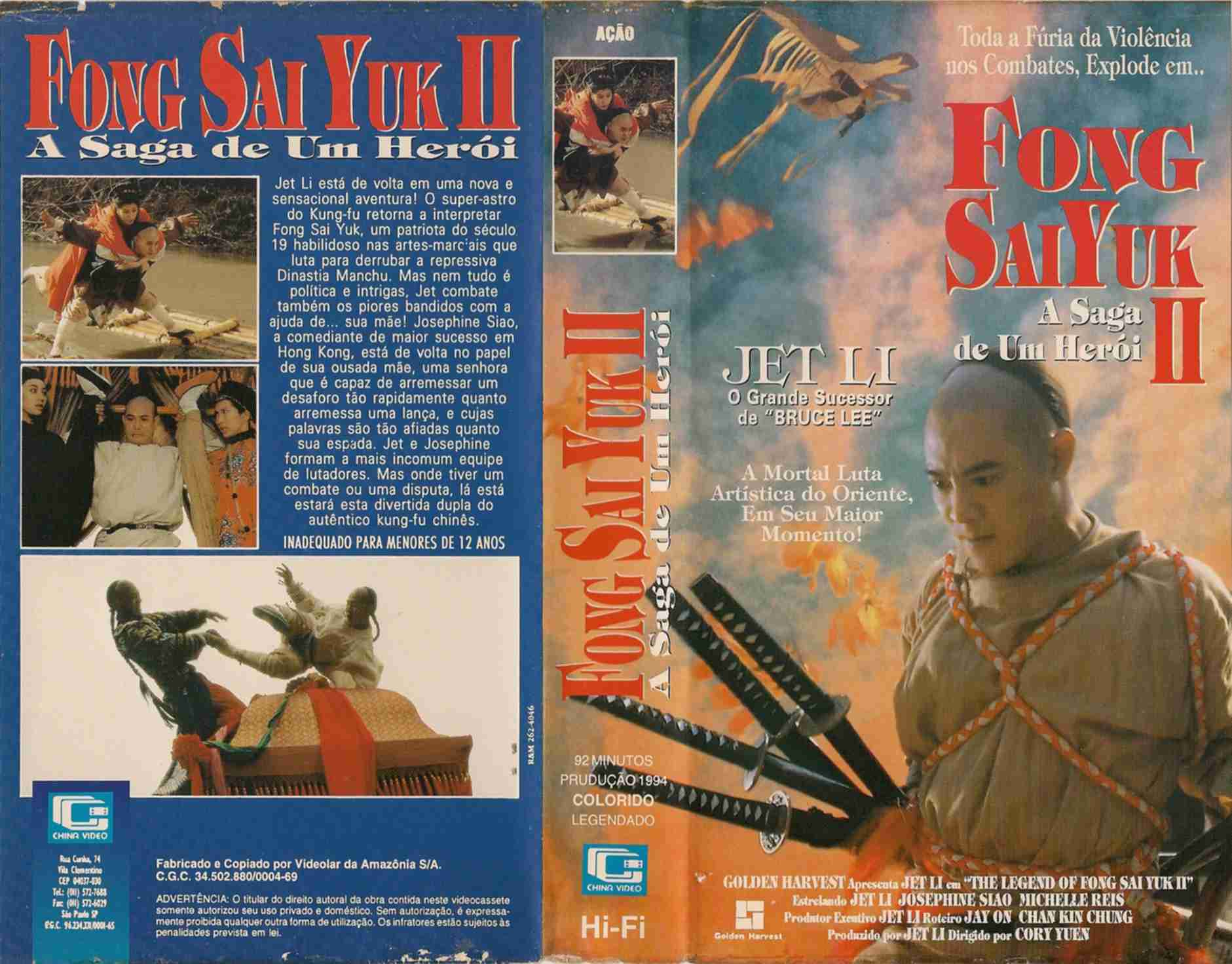 The 10 Absolutely Essential Jet Li Movies