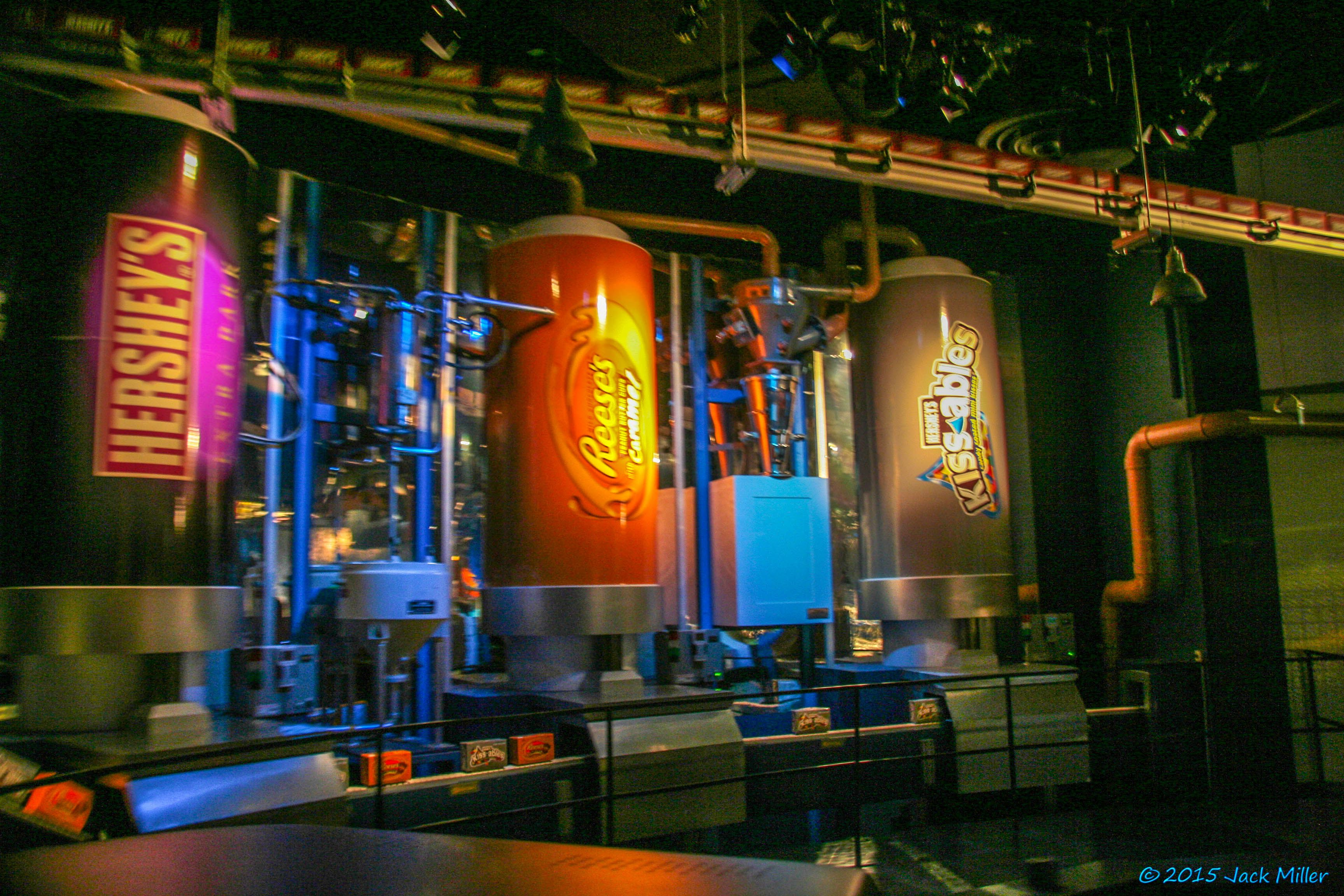 Hershey's Chocolate Factory Tour