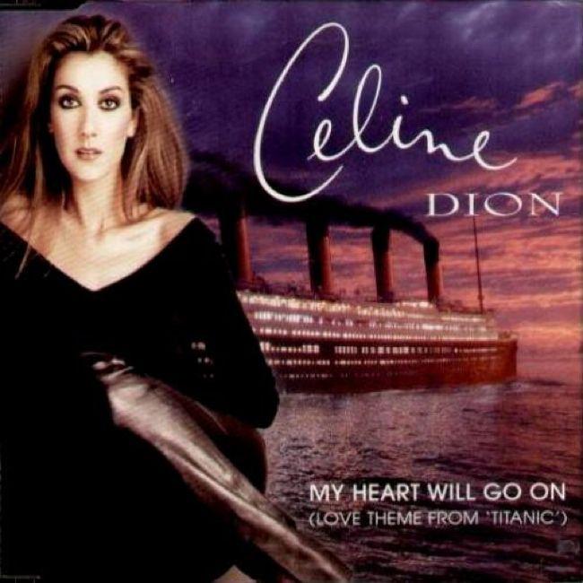 "Album art for Celine Dion - ""My Heart Will Go On"""