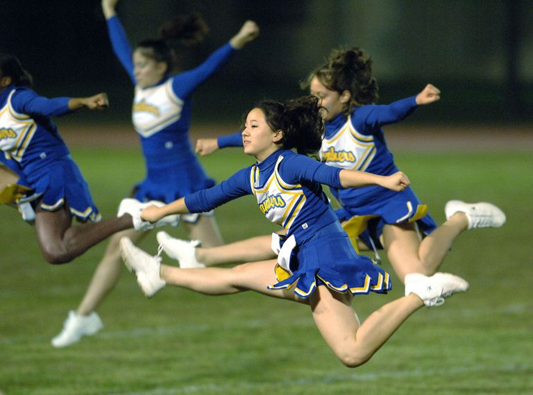 Yokota High School Cheerleaders - Yokota Air Base, Japan