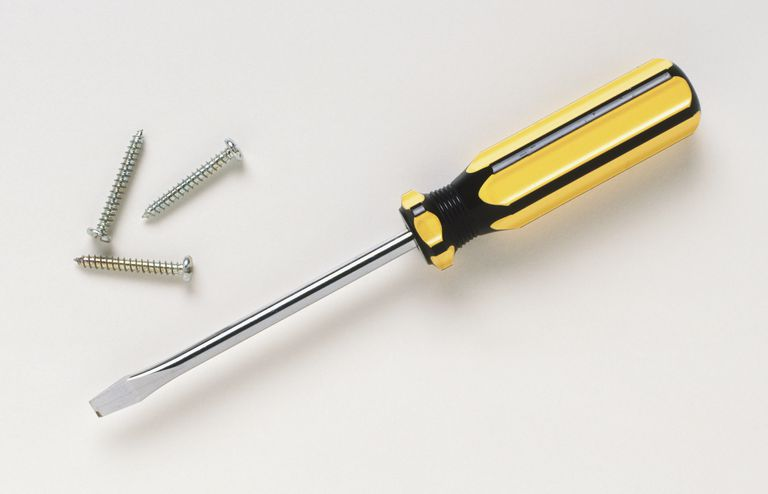 Flat head screwdriver