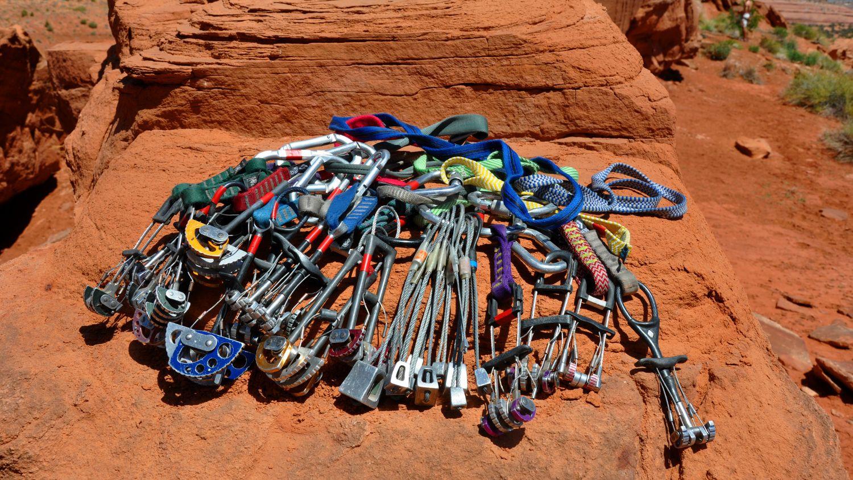 racking gear how to carry climbing
