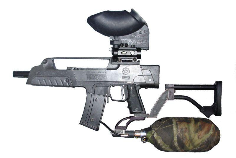 high-end paintball gun