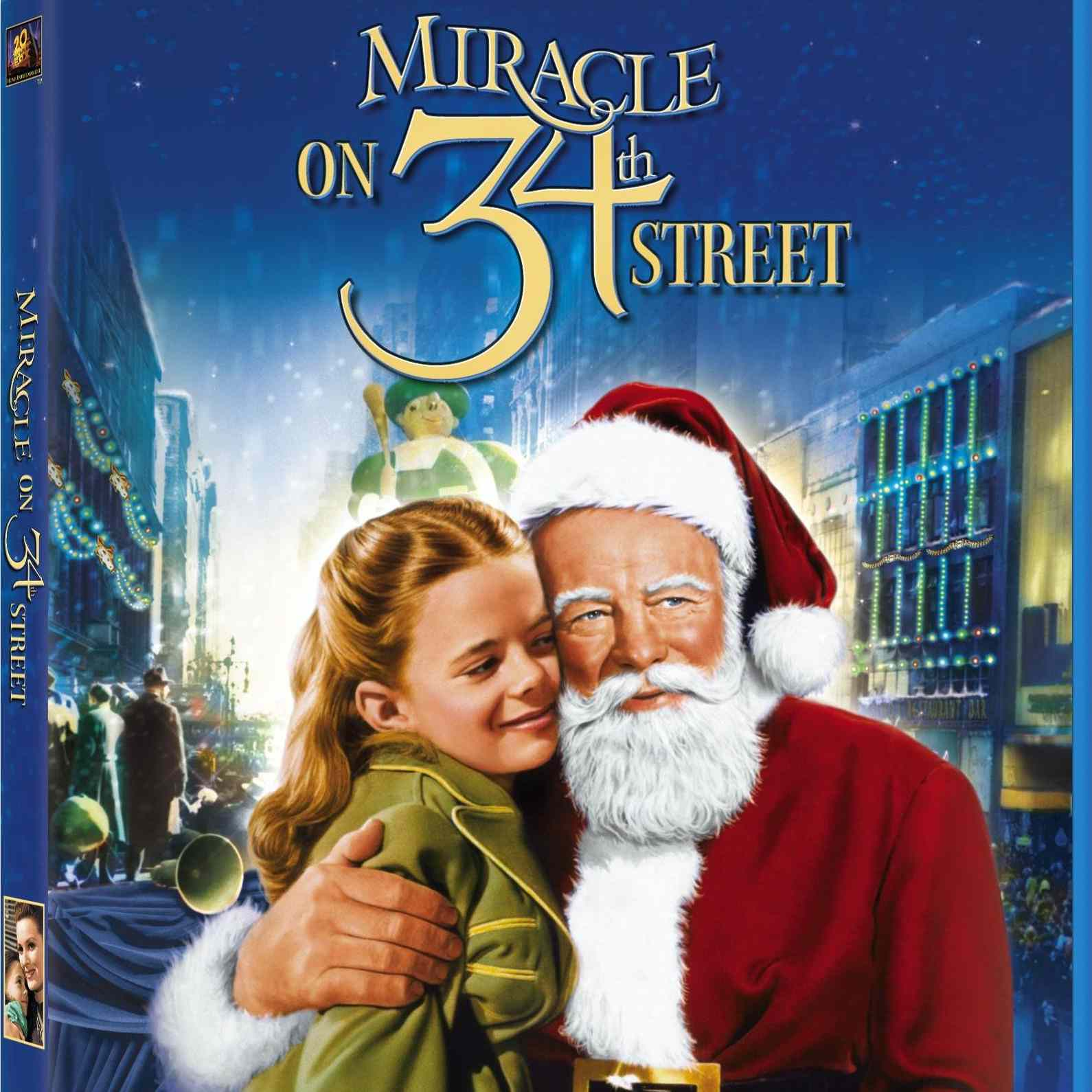 Miracle on 34th Street cover
