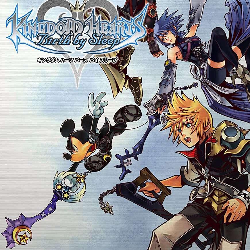 Kingdom Hearts: Birth by Sleep PSP game jacket