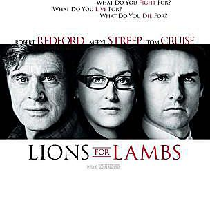 Theatrical Poster for Lions for Lambs