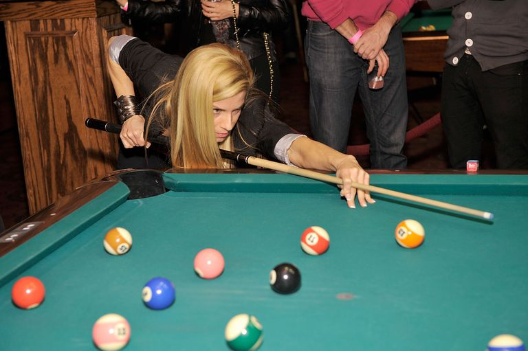 Jennifer Barretta Pool Billiards