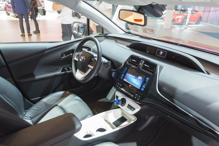 New Toyota Prius Hybrid (fourth generation) interior