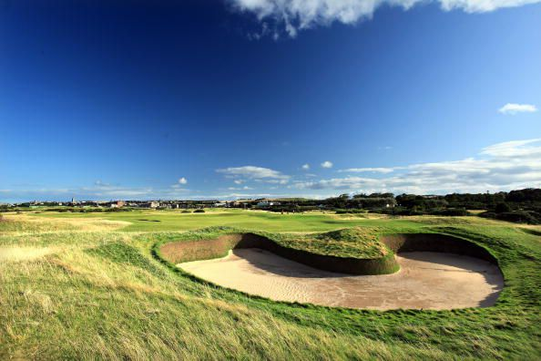 Old Course at St. Andrews Hole 14