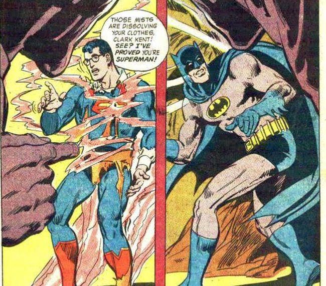 "Comic panel from ""World's Finest Comics"" #176"