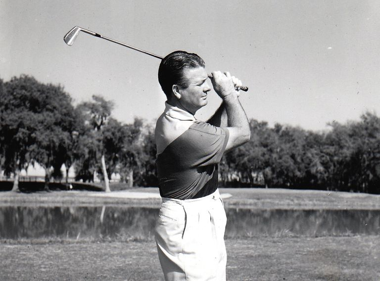 Golfer Jimmy Demaret