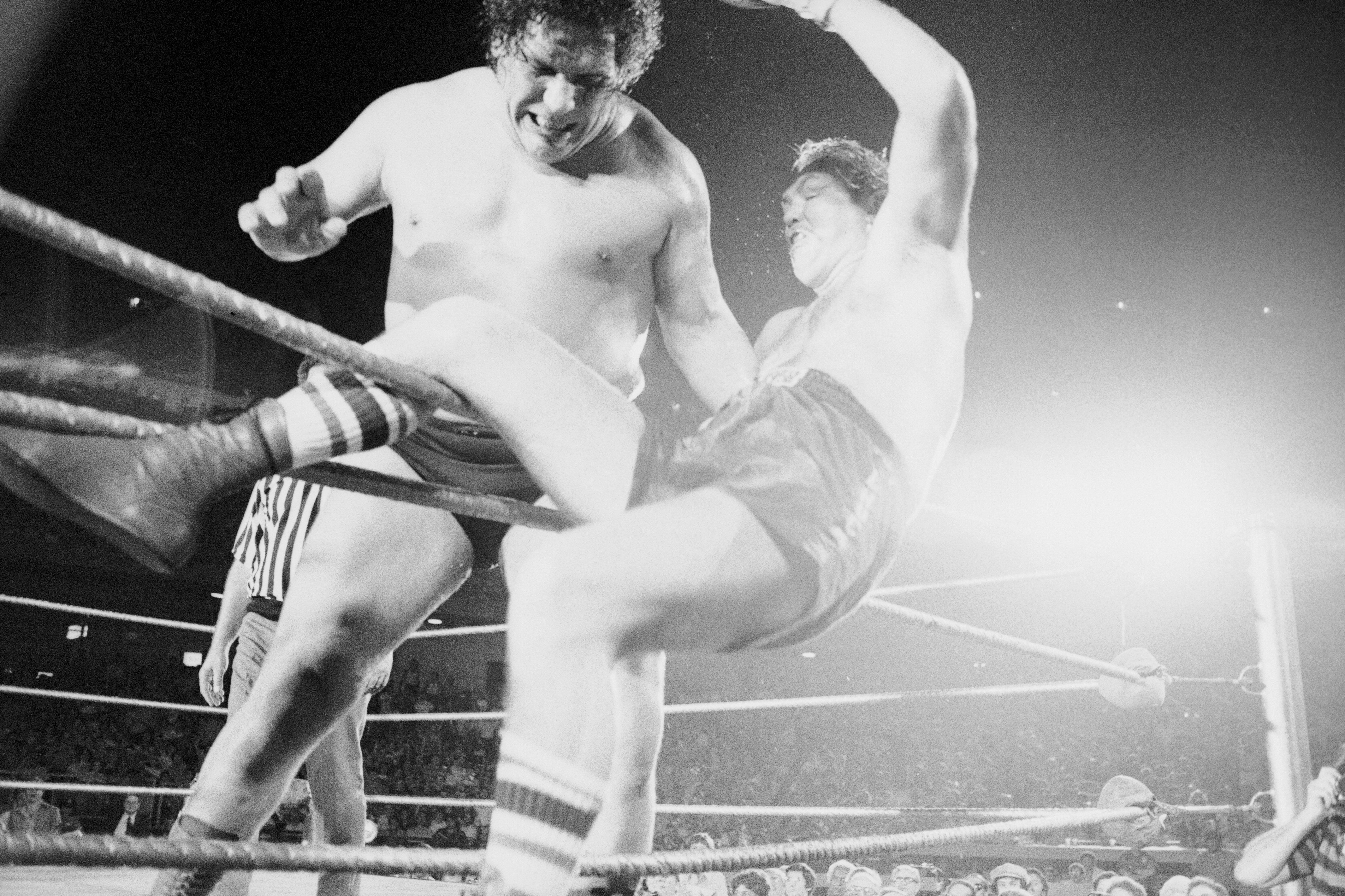 Andre the Giant Tossing Chuck Wepner Out of Ring