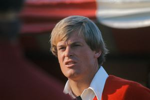 Golfer Johnny Miller photographed in 1975
