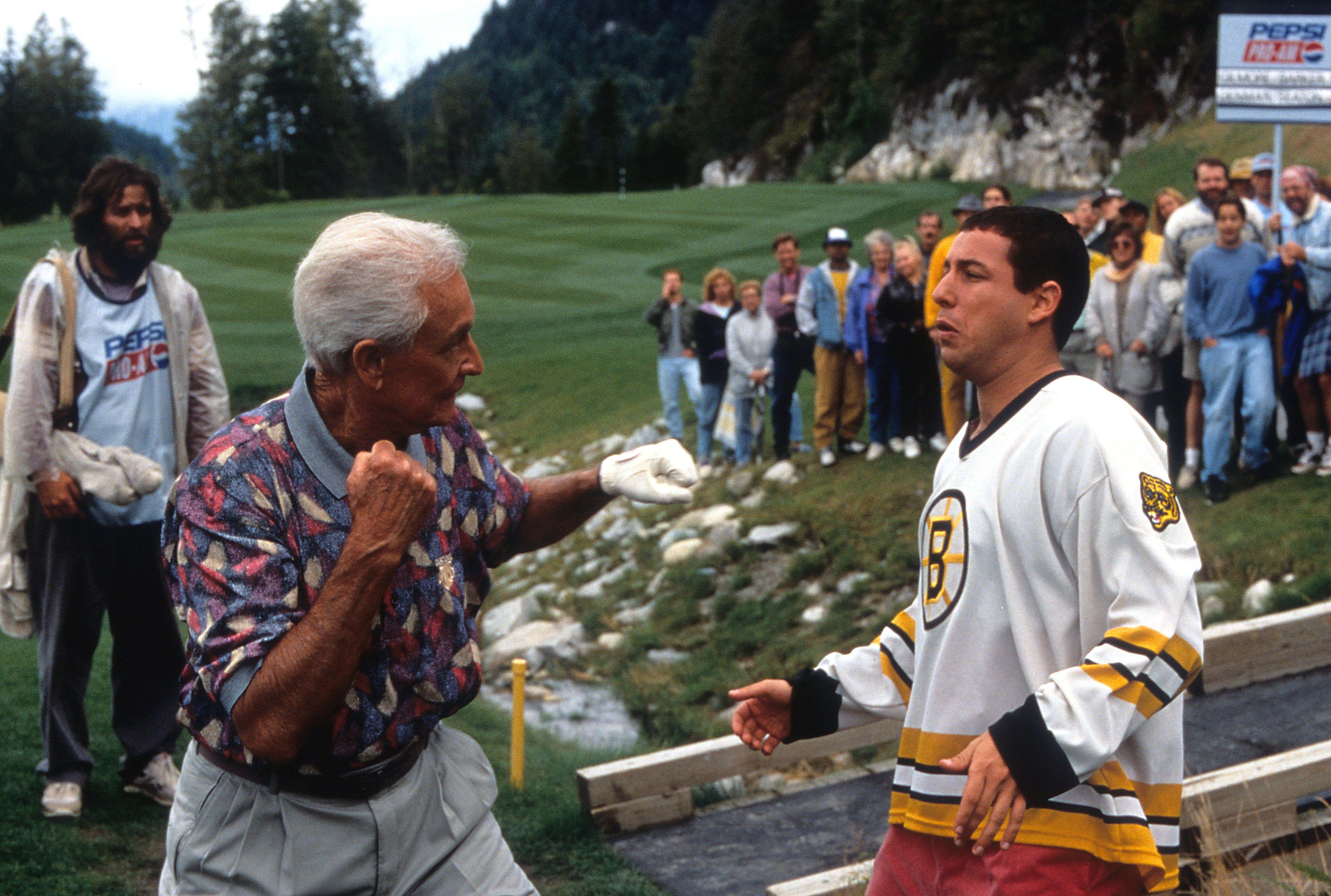 The Bob Barker fist fight scene from Happy Gilmore movie