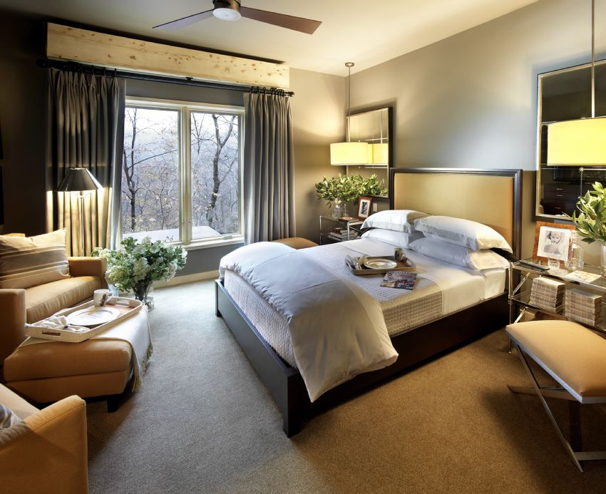 Photo of the 2011 HGTV Dream Home Guest Bedroom.