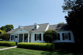 The Eisenhower Cabin at Augusta National Golf Club.