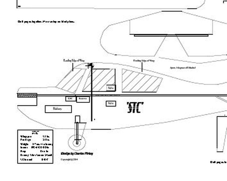 Easy-Build RC (Radio Controlled) Airplane Plans