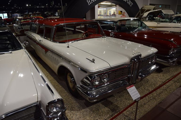 A Ford Edsel on display