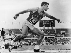 American discus athlete Alfred Adolf Oerter Jr.