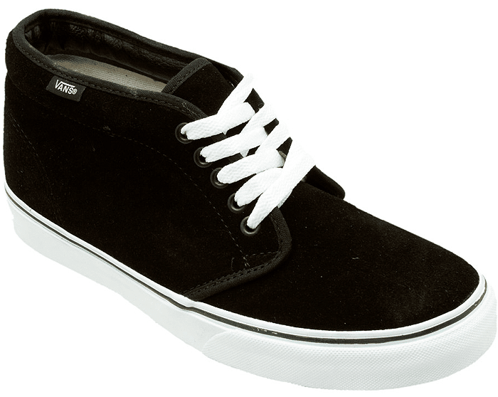 d754b12d5e3a Dig the high-top tip but aren t sure such heights are for you  The VANS  Men s Chukka Boot is a low-key mid-top made for cold-kickin  it.