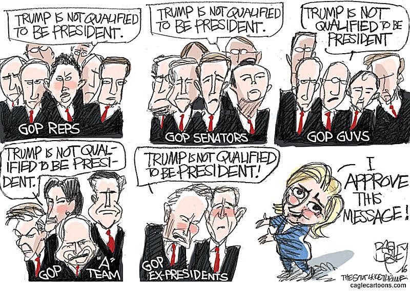 Donald Trump Cartoons Best Trump Political Cartoons