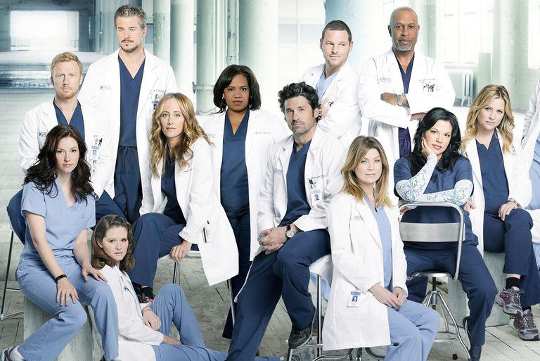 Image result for Grey's Anatomy Series