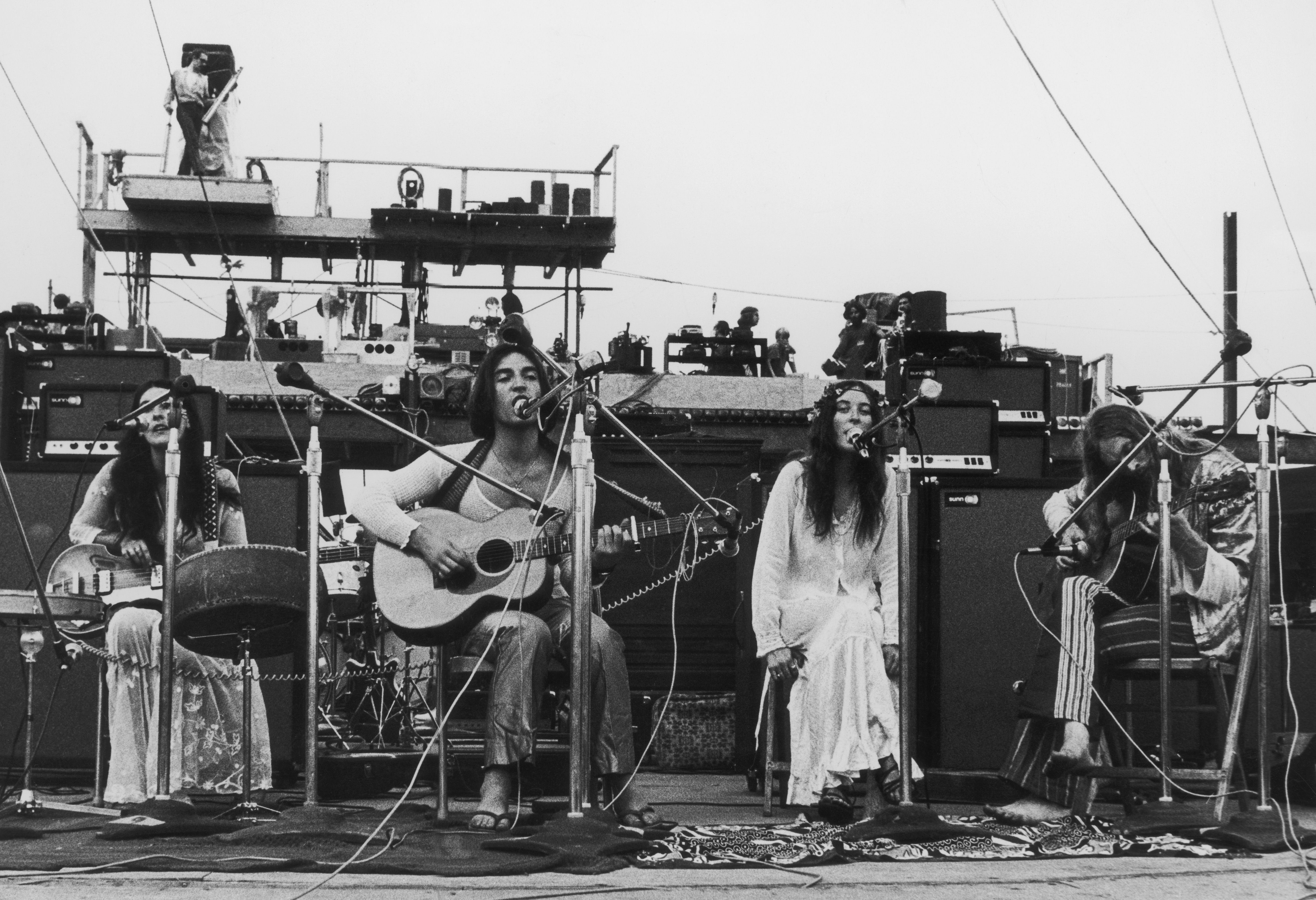 Incredible String Band playing Woodstock