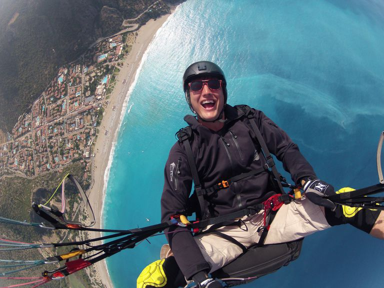 Paragliding just might be the most fun you ever have. You'll never know until you try it...