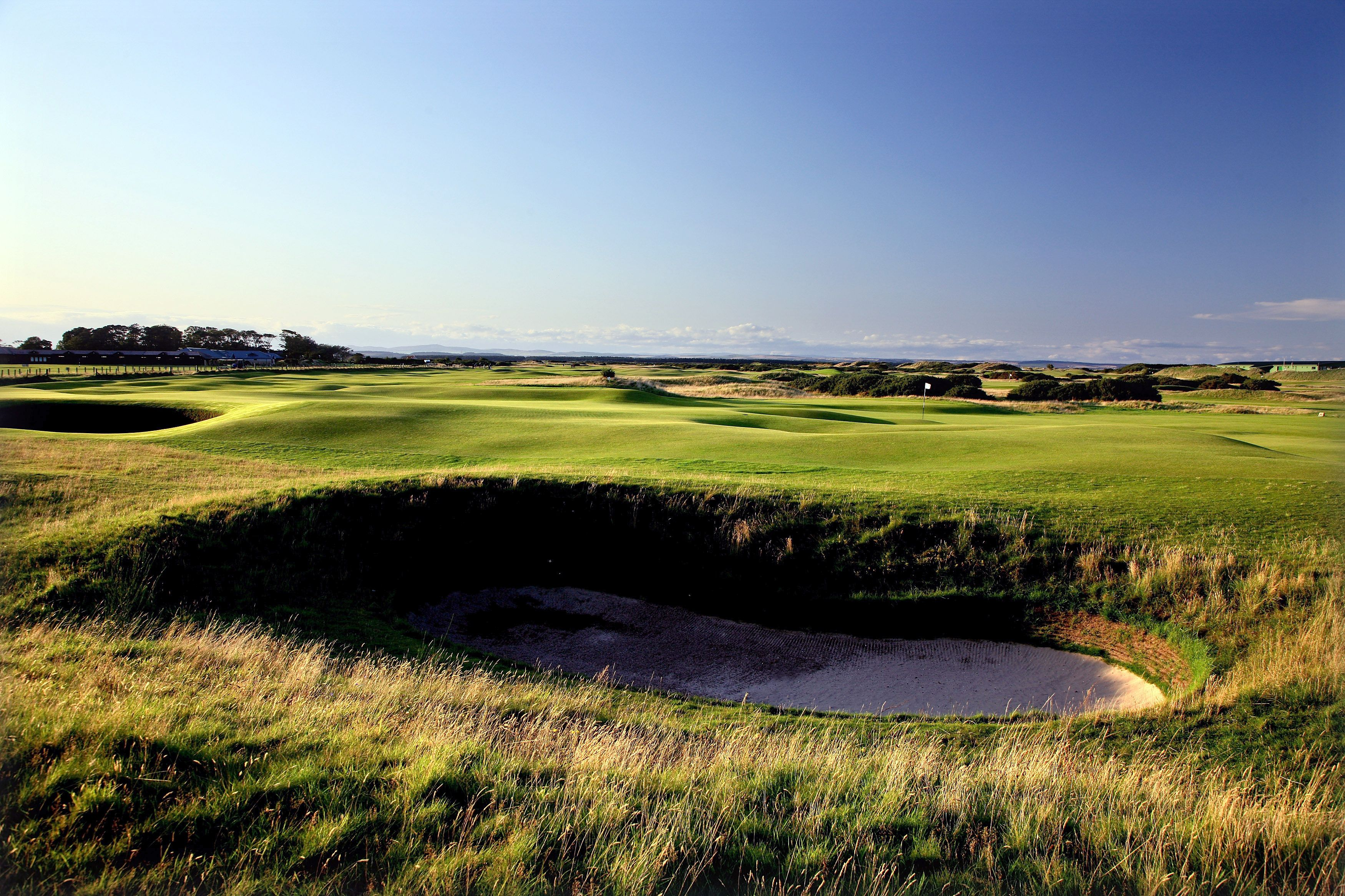 Old Course at St. Andrews Hole 2