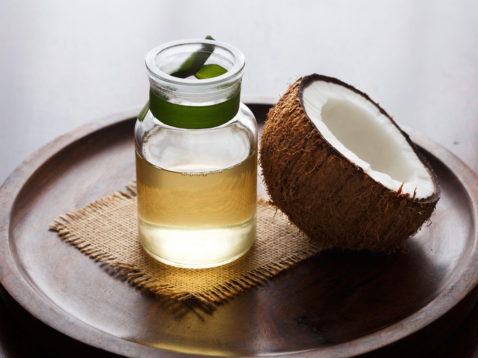 Coconut Oil Treatment for Damaged Hair
