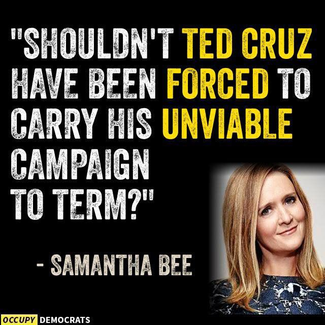 Cruz Unviable Campaign