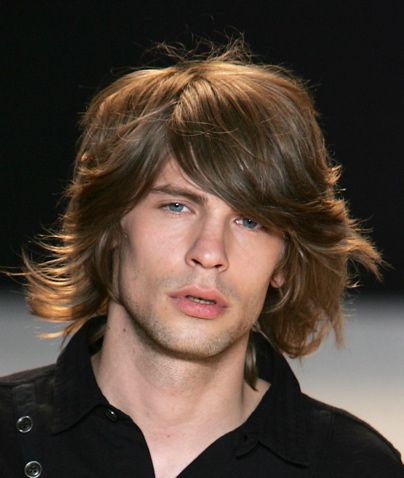 Long Hairstyles For Men Picture Gallery