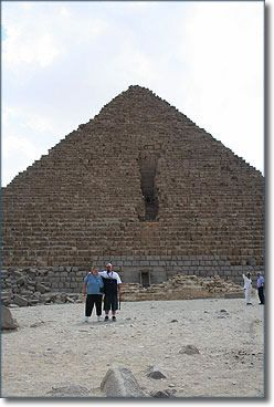 Charl and her husband enjoy a trip to Egypt that they won from Dr. Pepper and Expedia.