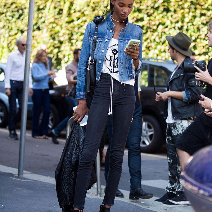 68d3b9c693f 10 Stylish Ways to Wear a Jean Jacket This Summer