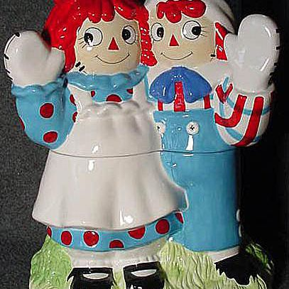 Treasure Craft Raggedy Ann and Andy