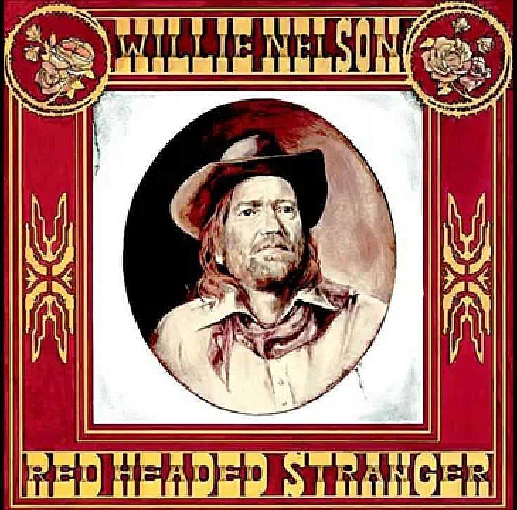 Willie Nelson Red Headed Stranger album cover