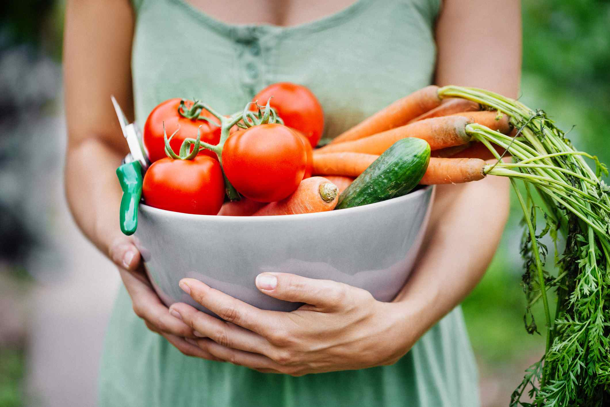 Produce from Garden