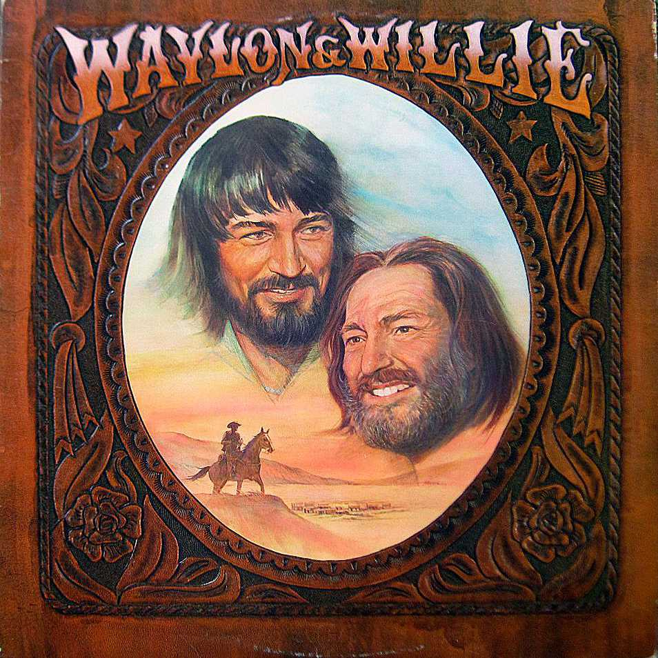 Willie Nelson/Waylon Jennings Waylon & Willie album cover