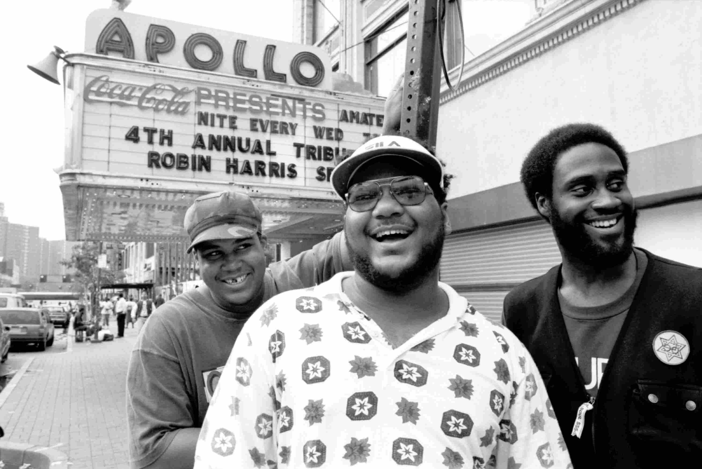De La Soul Outside The Apollo Theater
