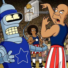 Bender Plays the Harlem Globetrotters on Futurama
