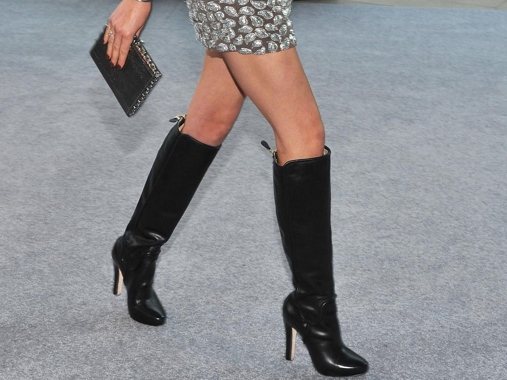 62ffed6d8 What Women Should Wear With Tall Boots
