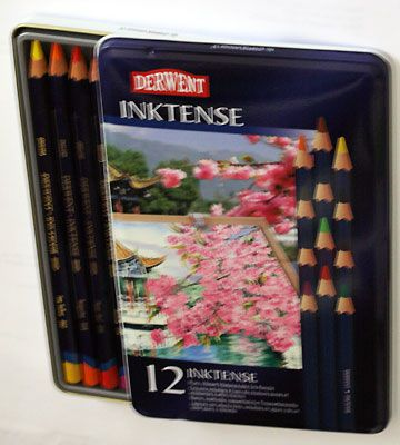 Inktense pencils review