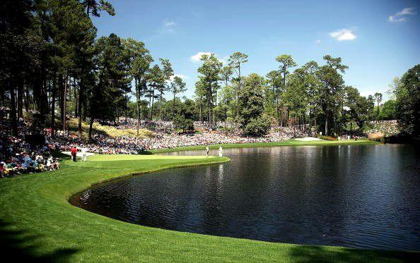 Augusta Par 3 Course Ike's Pond