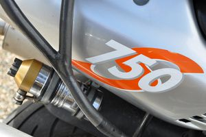 painted motorcycle fuel tank