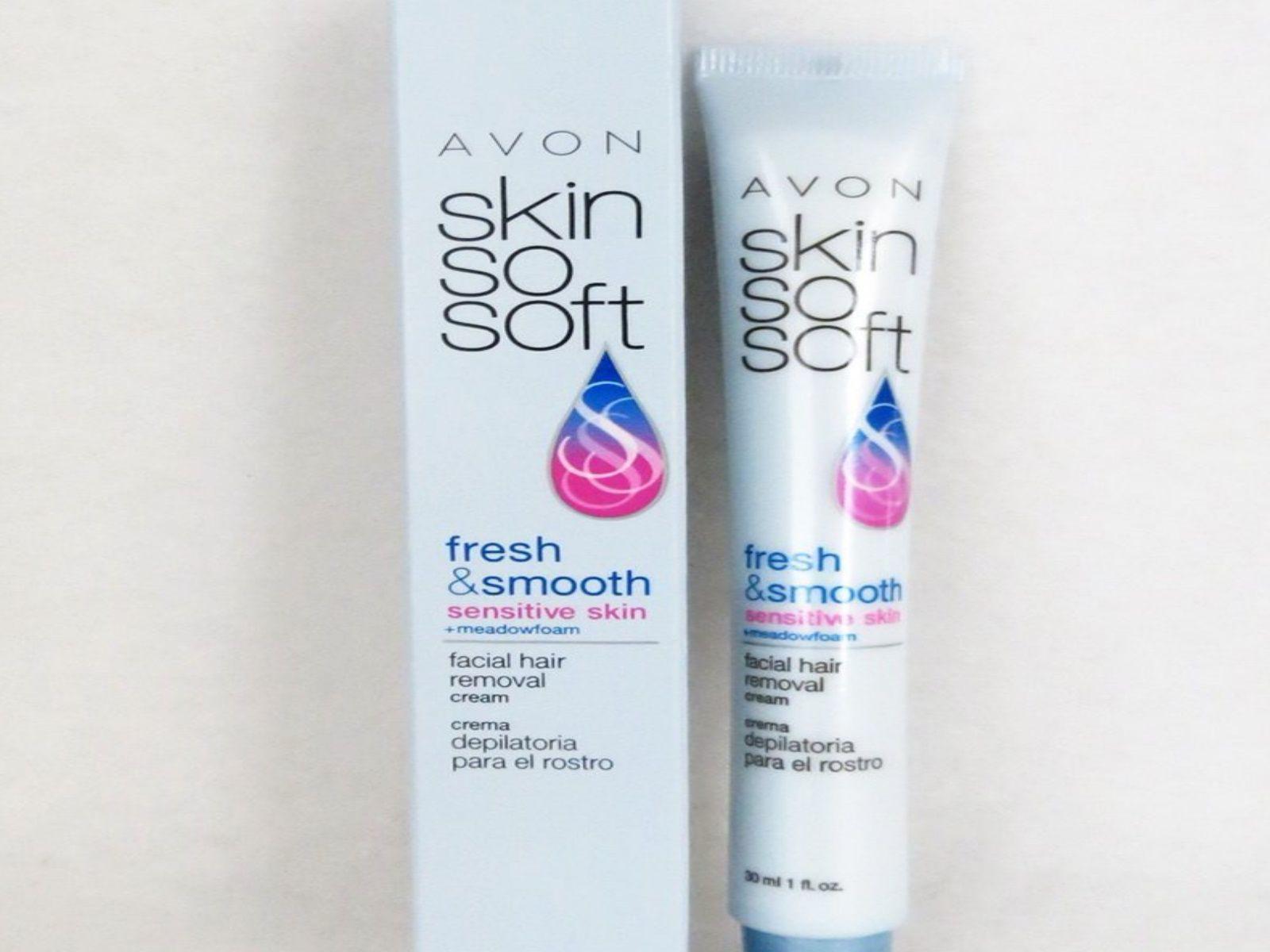 Avon Skin So Soft Facial Hair Removal Cream Review