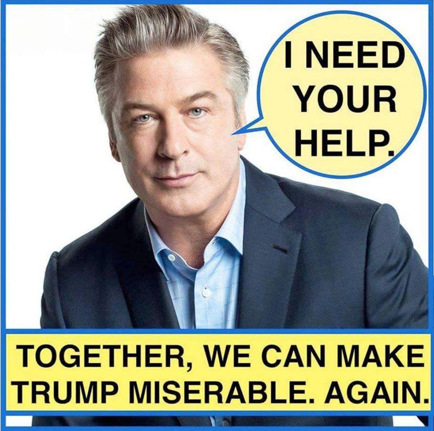 Baldwin - Trump meme